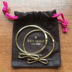 Kate Spade Bow Bracelets NWOT